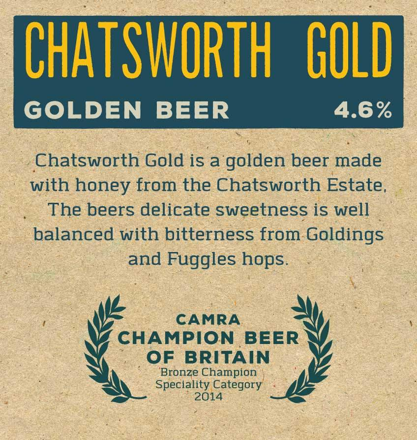 Chatsworth Gold x 12 Bottles Label Reverse