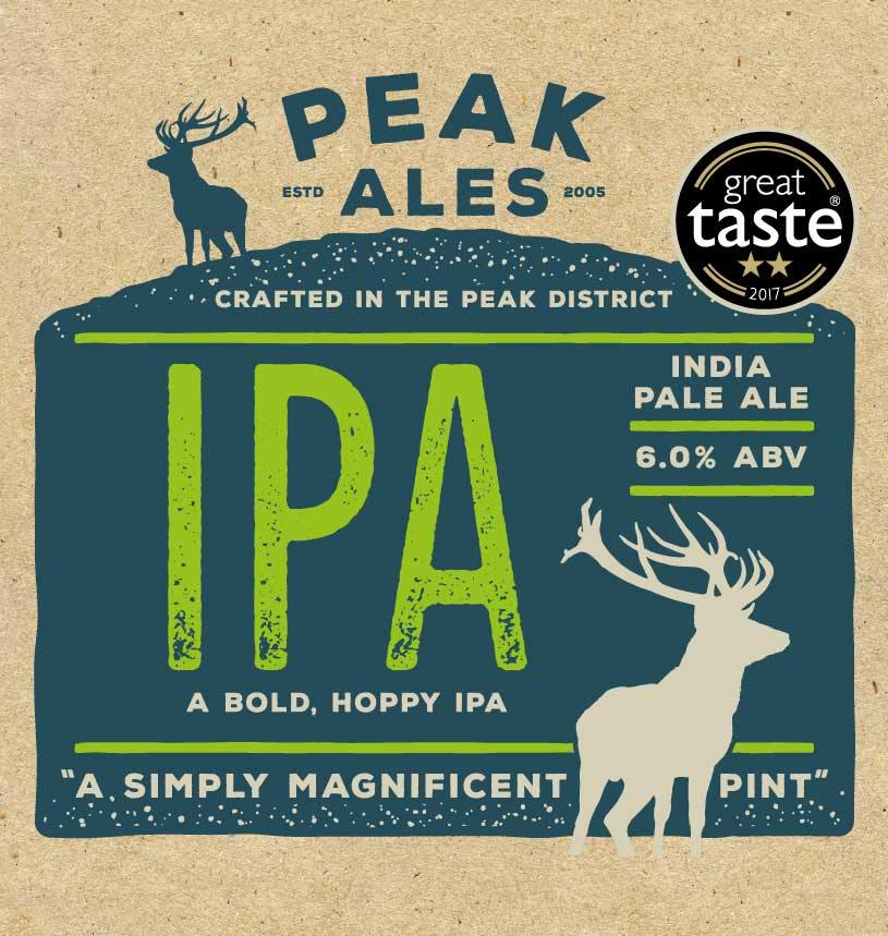 India Pale Ale IPA Label