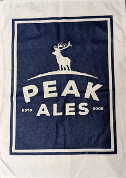 Peak Ales Tea Towel