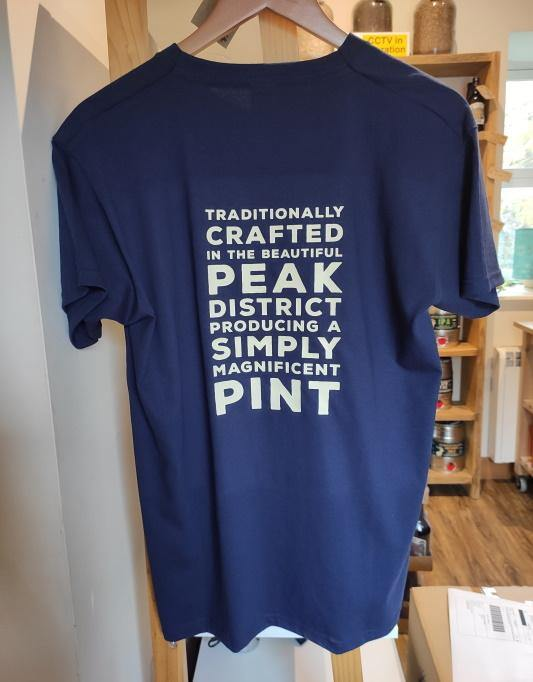 Peak Ales T-Shirt Back
