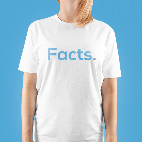 Facts. - Logo Tee