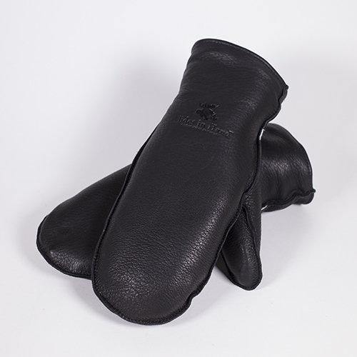 Deerskin Leather Mitts (No Cuff)