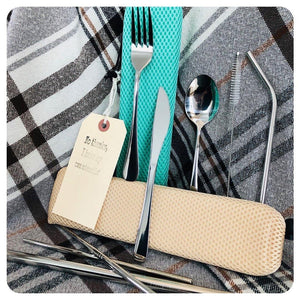 10 Pc Cutlery Set