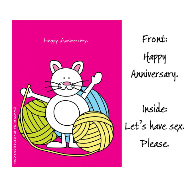 Cheeky Anniversary Cards