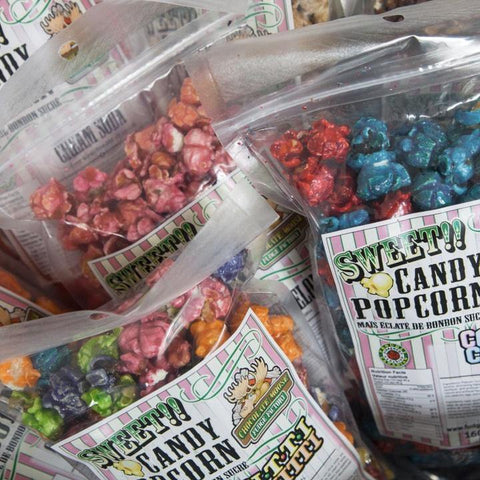 Sweet Candy Popcorn