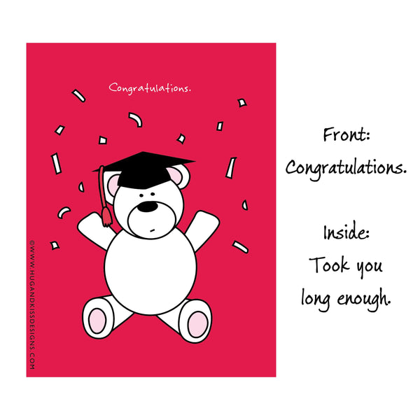 Cheeky Graduation Cards