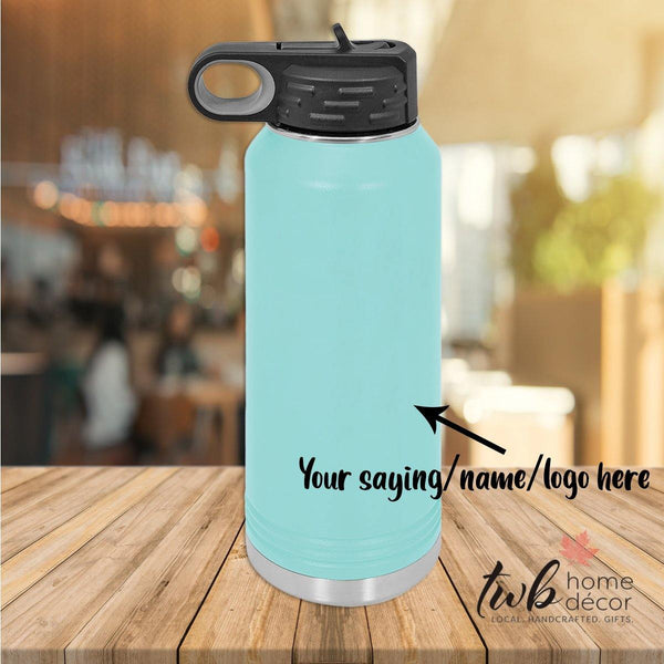CUSTOM 32oz Water Bottle Thermal