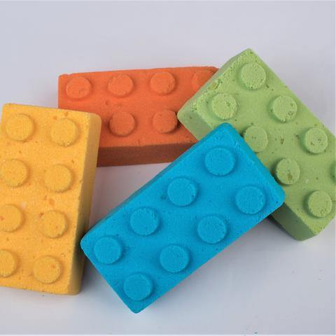 Building Block Bath Bomb
