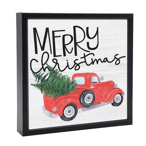 Christmas Box Signs