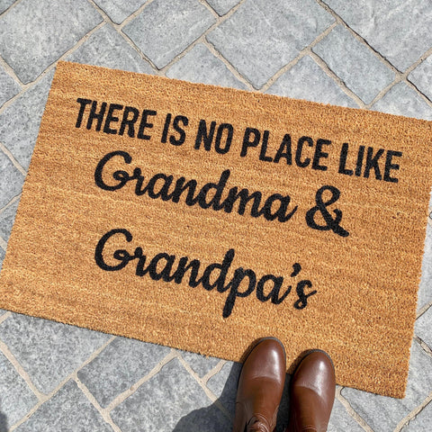 CUSTOM There is no place like... Doormat