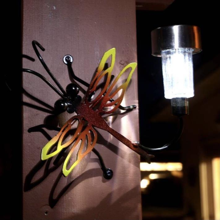 Small Dragonfly with Solar Light