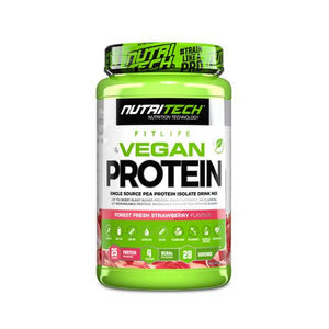 Nutritech 100% Vegan Protein - Forest Fresh Strawberry