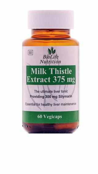 BioLife Milk Thistle 375mg - NutrifoodSA