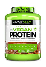 Load image into Gallery viewer, NUTRITECH NATURAL 100% VEGAN PROTEIN DOUBLE DUTCH COCOA