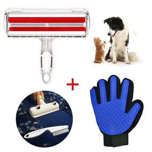 Pet Grooming Kit (Glove + Brush) - Online Dog Store