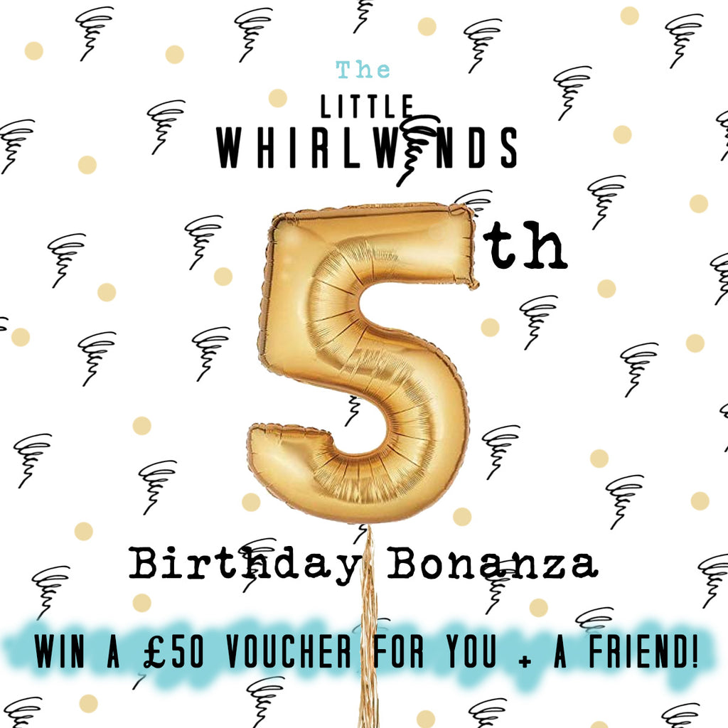 5th Birthday Bonanza! Win £50 for you + a friend!