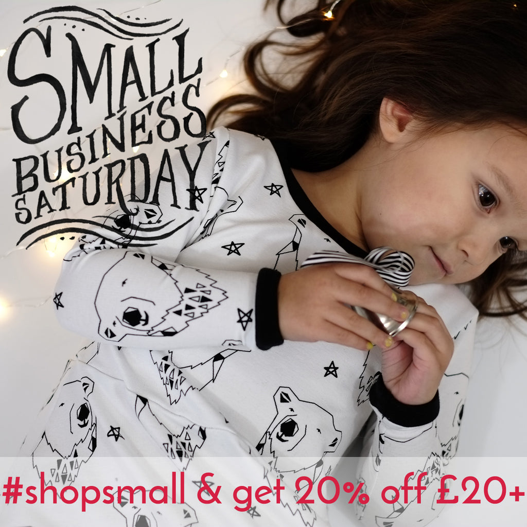Small Business Saturday - 20% off!