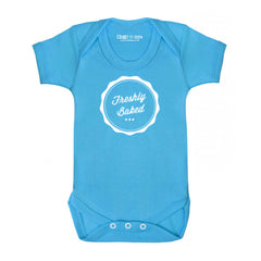 Freshly baked cool baby grow bodysuit
