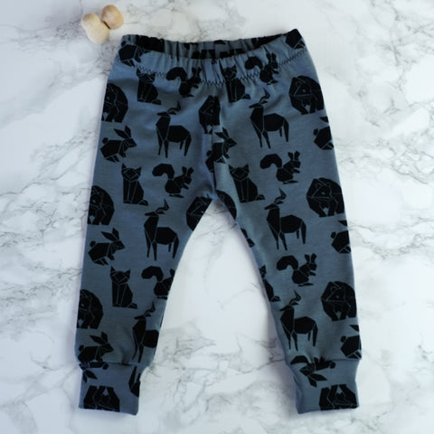 Origami Animals Baby & Kids' Leggings