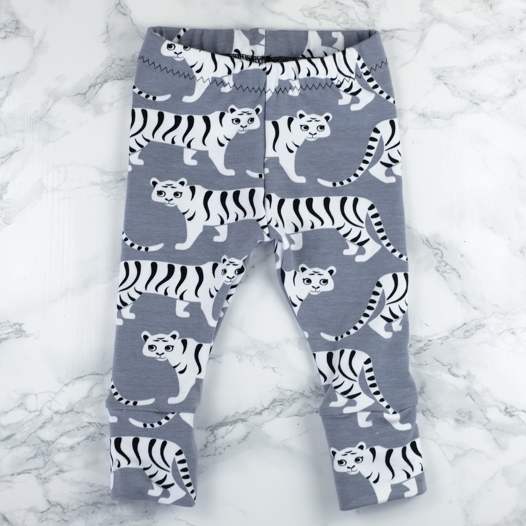 Terrific Tigers Baby & Kids' Leggings - Little Whirlwinds cool baby clothes and cool older kids clothes and gifts