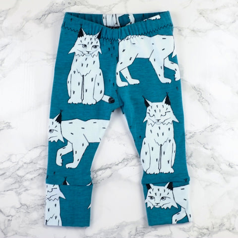 Lovely Lynx Baby & Kids' Leggings - Little Whirlwinds cool baby clothes and cool older kids clothes and gifts