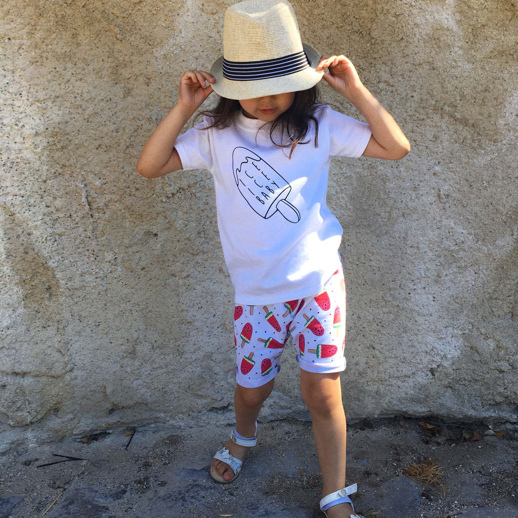 Happy Days Harem Shorts - Choice of Fabrics - Little Whirlwinds cool baby clothes and cool older kids clothes and gifts