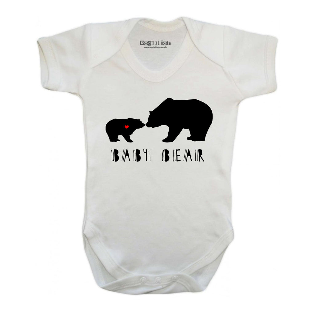 Baby Bear Bodysuit 6-12 - Little Whirlwinds cool baby clothes and cool older kids clothes and gifts