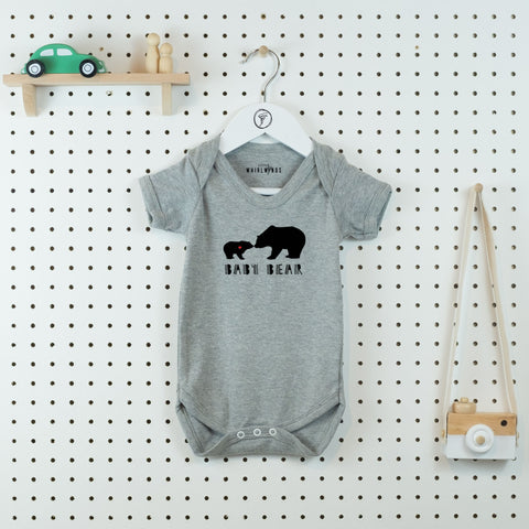 Baby Bear Bodysuit - Little Whirlwinds cool baby clothes and cool older kids clothes and gifts