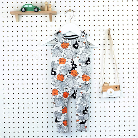 Cosy Romper - Choice of Fabrics - Little Whirlwinds cool baby clothes and cool older kids clothes and gifts