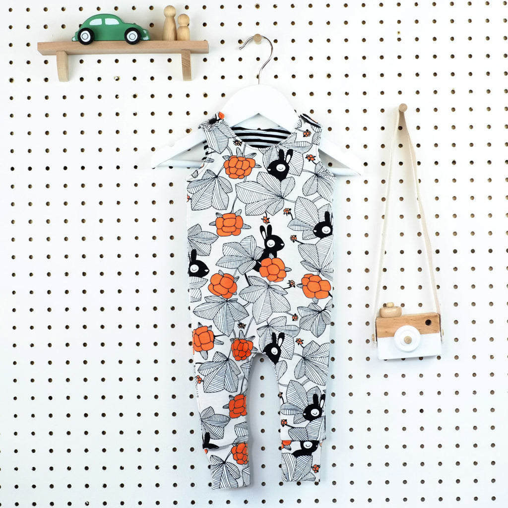 PRE-ORDER FABRICS - Cosy Romper - Little Whirlwinds cool baby clothes and cool older kids clothes and gifts