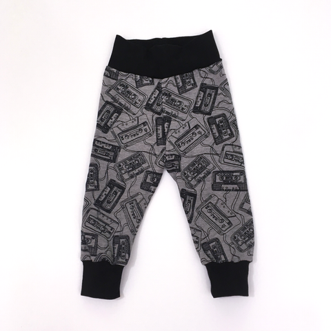 Retro Cassette Baby & Toddler Pants - Rock It Tots -  cool baby clothes and gifts for funky kids - 1