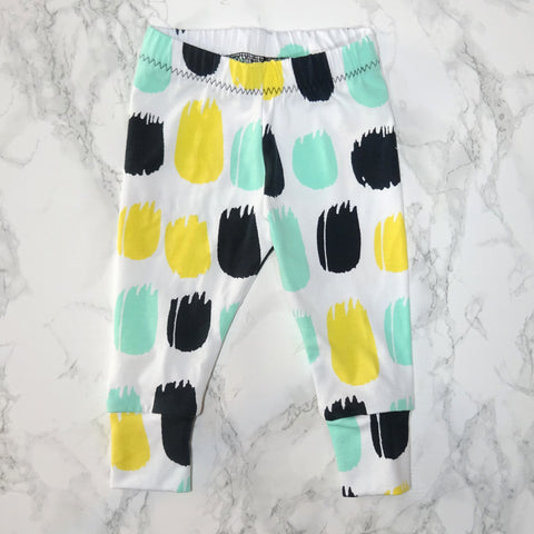Colour Dash Baby & Kids' Leggings - Little Whirlwinds cool baby clothes and cool older kids clothes and gifts
