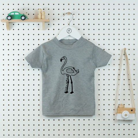 Stand Tall Flamingo Kids' T-shirt