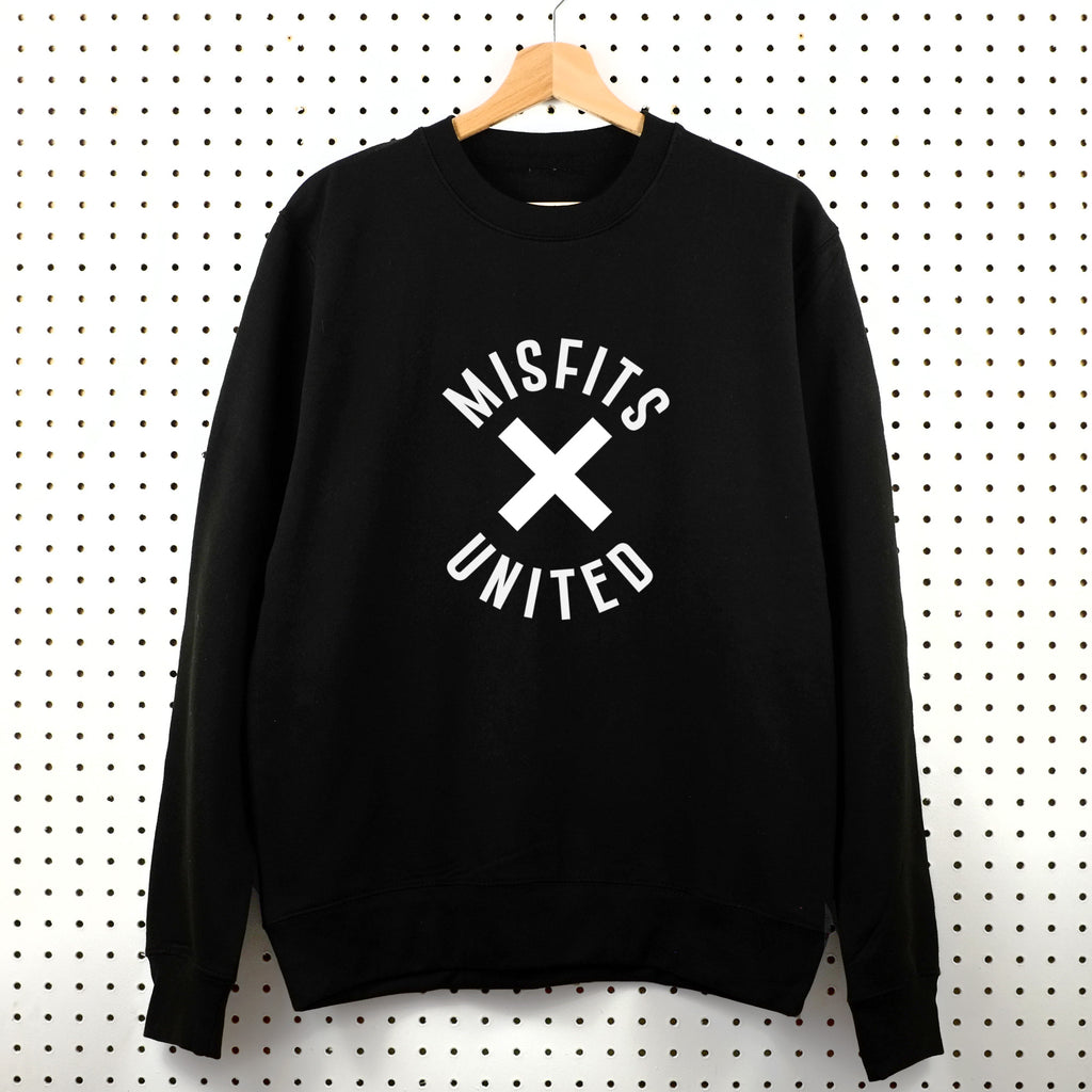 Misfits United Sweatshirt - Little Whirlwinds cool baby clothes and cool older kids clothes and gifts