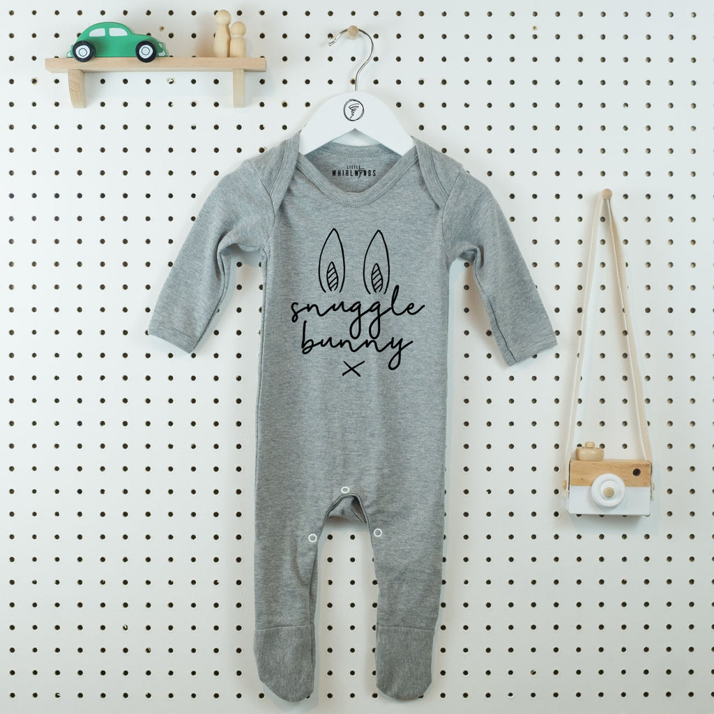 Snuggle Bunny Cute Baby Grow - Little Whirlwinds cool baby clothes and cool older kids clothes and gifts