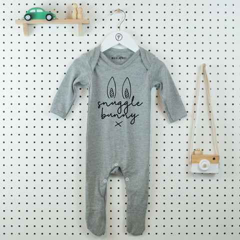 Snuggle Bunny Cute Baby Grow