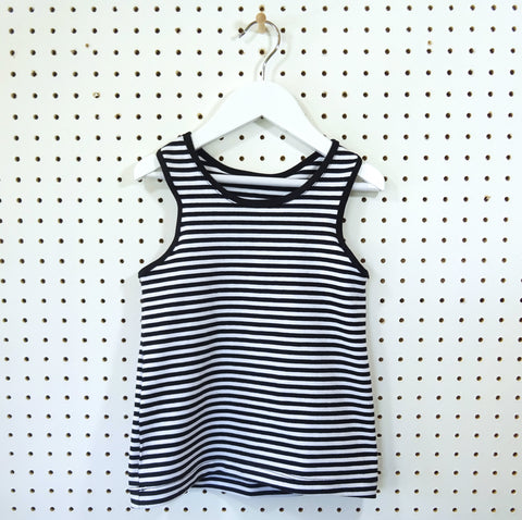 Fun Times Tank Vest - choice of fabrics - Little Whirlwinds cool baby clothes and cool older kids clothes and gifts