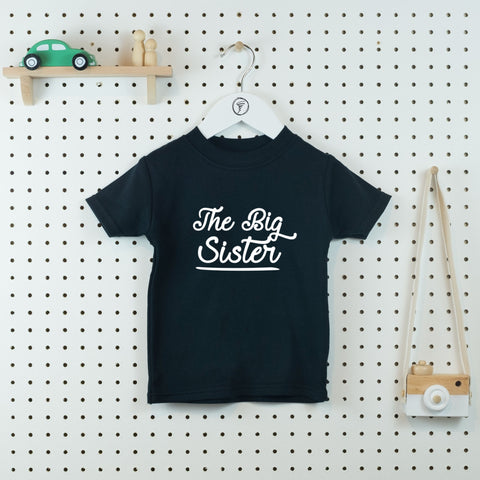 The Big Sister T-shirt - Little Whirlwinds cool baby clothes and cool older kids clothes and gifts