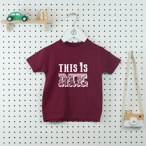 This is Me - Greatest Showman Inspired Kids' T-shirt - Little Whirlwinds cool baby clothes and cool older kids clothes and gifts