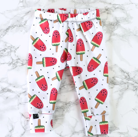Watermelon Ice Baby & Kids' Leggings