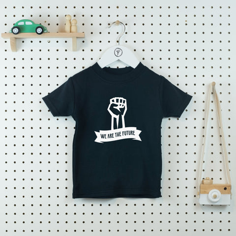 We are the Future Kids' T-shirt - Little Whirlwinds cool baby clothes and cool older kids clothes and gifts