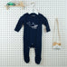 Whale Personalised Baby Grow - Little Whirlwinds cool baby clothes and cool older kids clothes and gifts