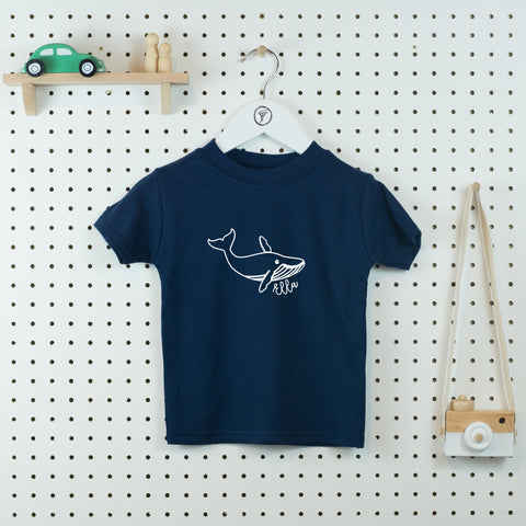 Whale of a Time Personalised T-shirt - Little Whirlwinds cool baby clothes and cool older kids clothes and gifts