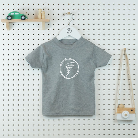 Little Whirlwind Kids' T-shirt - Little Whirlwinds cool baby clothes and cool older kids clothes and gifts
