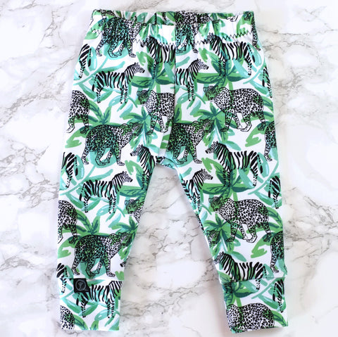 Jungle Fever Baby & Kids' Leggings - Little Whirlwinds cool baby clothes and cool older kids clothes and gifts