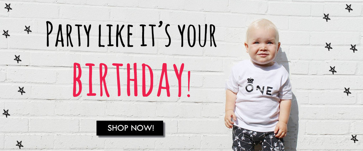 cool baby clothes birthday number age 1st t-shirts