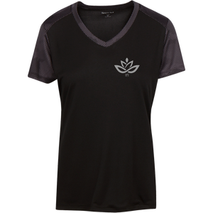 LST371 Ladies' CamoHex Colorblock T-Shirt