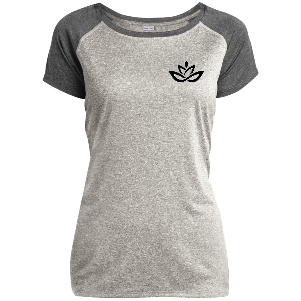 LST362 Ladies Heather on Heather Performance T-Shirt