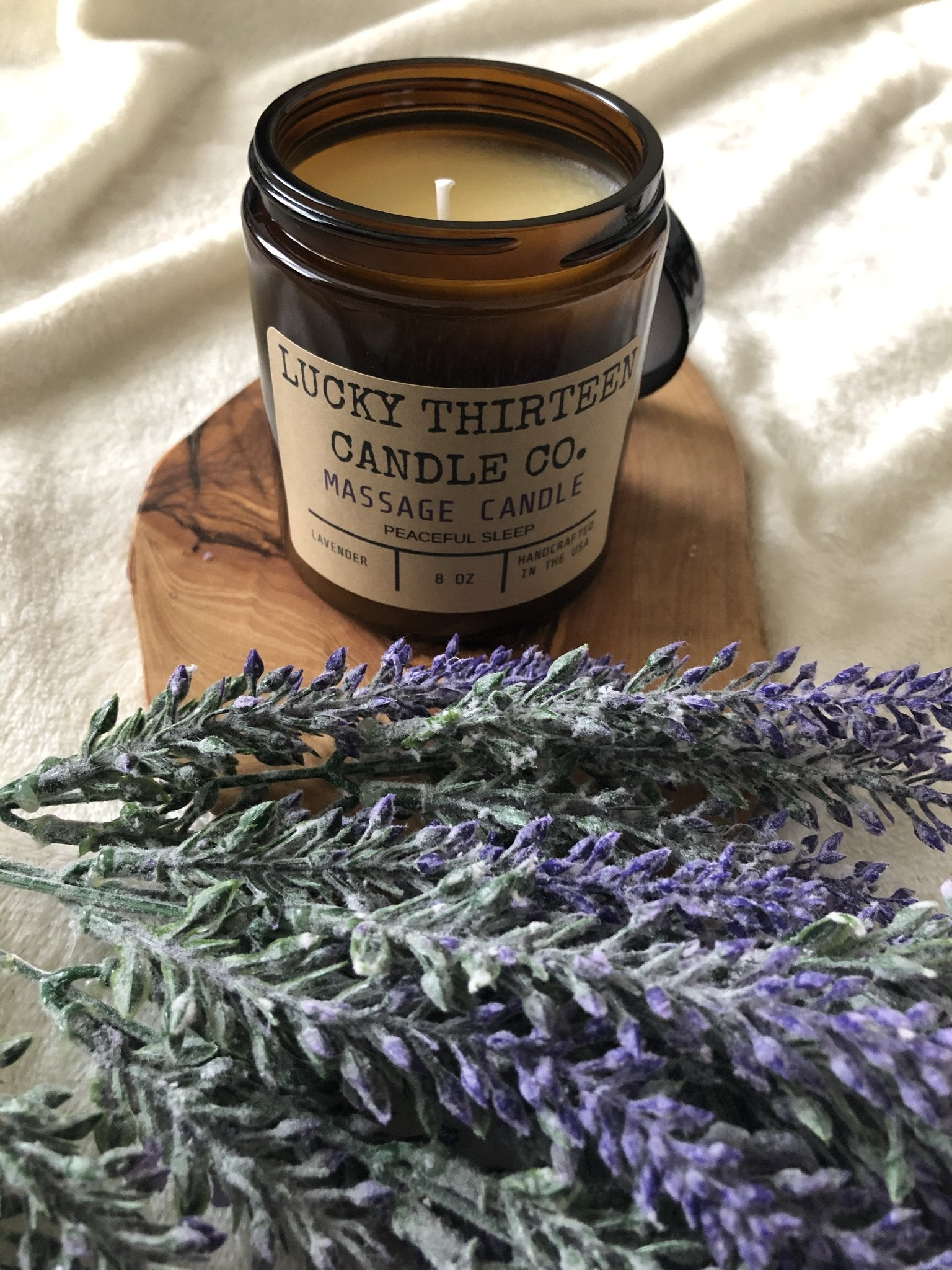 [Peaceful Sleep] Massage Candle