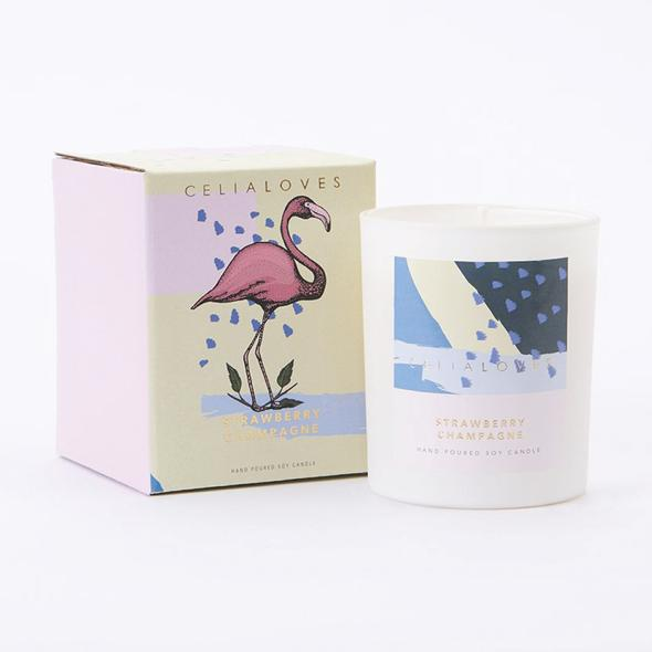 [Strawberry Champagne] Candle